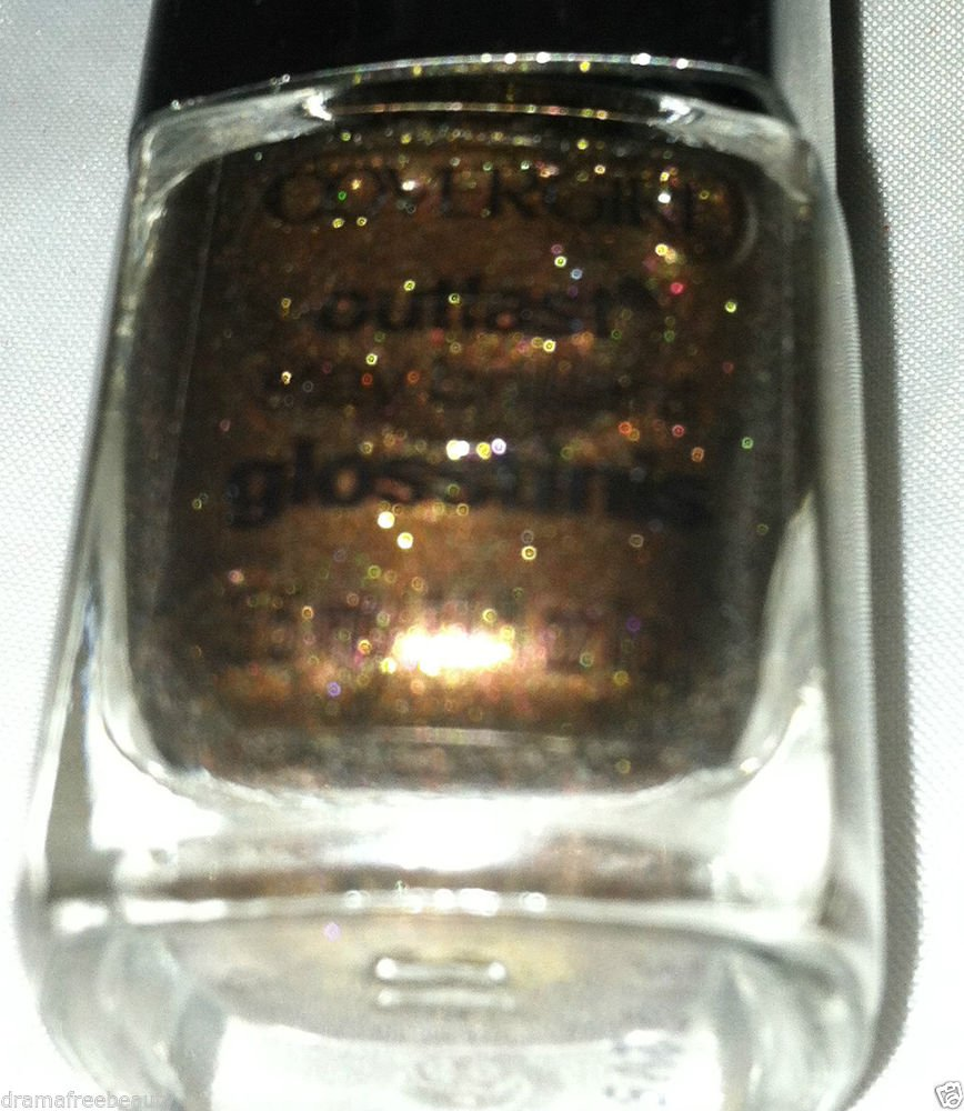 Cover Girl Hunger Games Outlast Stay Glosstinis Nail Polish 630 *SEARED BRONZE*