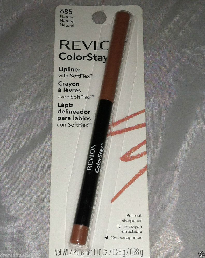 Revlon ColorStay Lipliner Crayon * 685 NATURAL  * Sealed Brand New