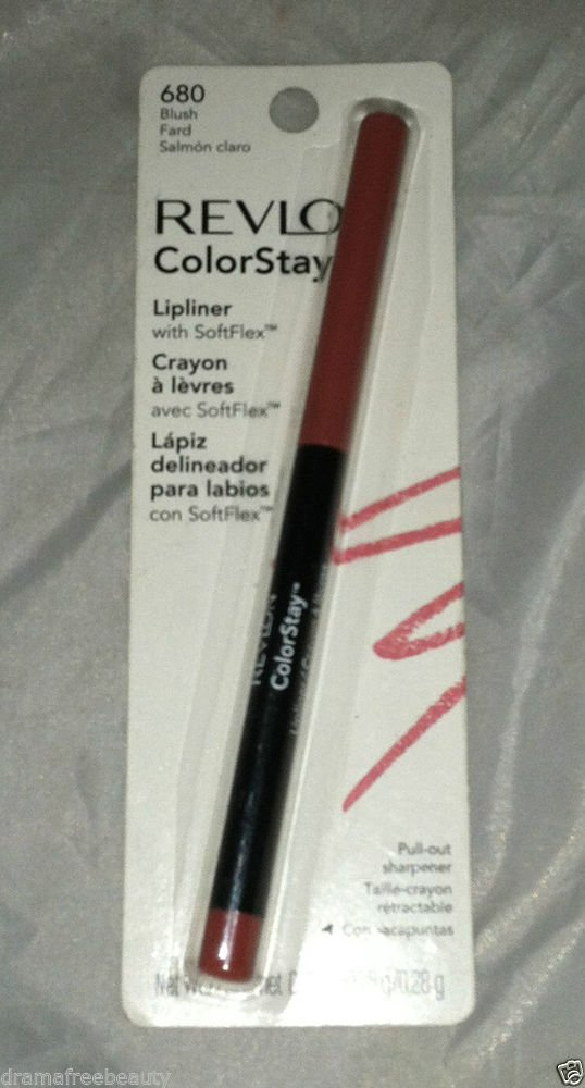 Revlon ColorStay Lipliner Crayon * 680 BLUSH  * Sealed Brand New