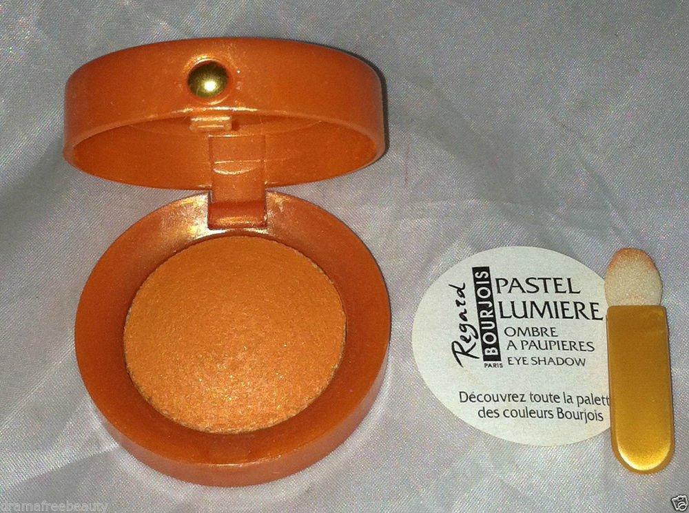 Bourjois Pastel Lumiere Pearl Eye Shadow * 23 ORANGE PEPITE * Shimmery Brand New