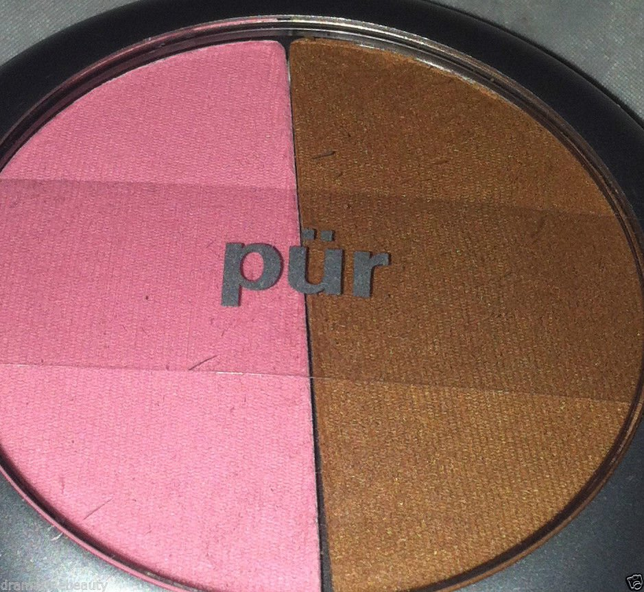 Pur Minerals LOVE STORY Blush & Bronzer Duo *BABY DOLL/MINERAL GLOW* Pink/Bronze