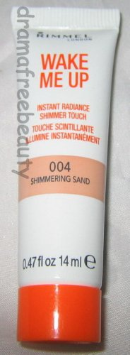 Rimmel Wake Me Up Instant Radiance Shimmer Touch *004 SHIMMERING SAND* Bronze BN