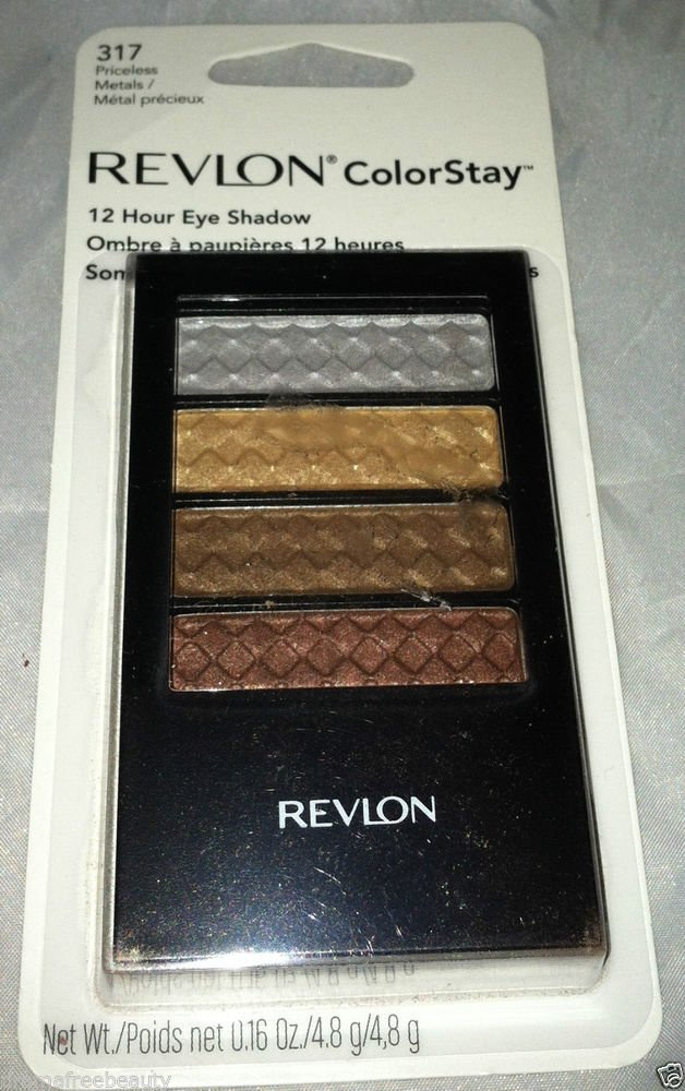 Revlon Colorstay 12 Hour Eyeshadow * 317 PRICELESS METALS * Rich Beautiful Color