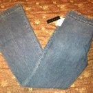 "Theory ""Tara"" Womens Trousers/Slacks/Jeans Dark Indigo BNWT Retails for $155.00"