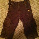 WonderKids Boys/Toddler/Infants 18 months Brown Corduroy Pants 7-pocket Design