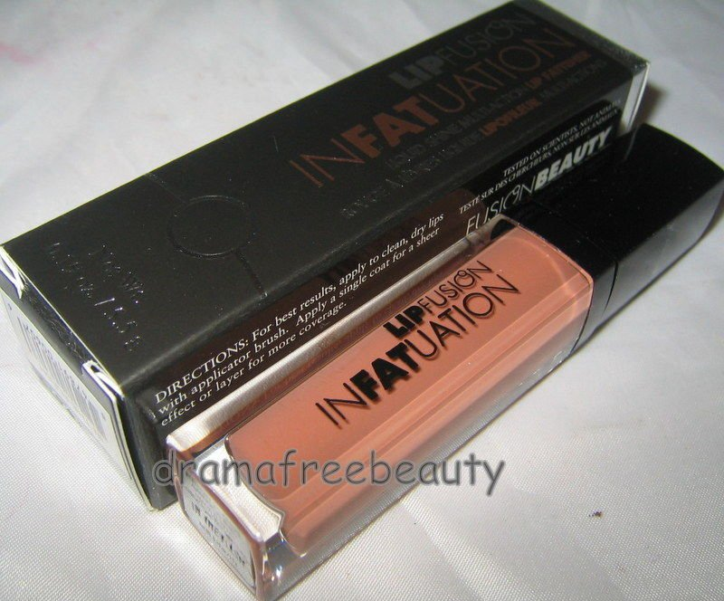 LipFusion InFATuation Shine Lip Gloss Fattener/Plumper *IN THE FLESH* $29 BNIB