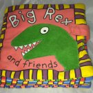Big Rex and Friends By Priddy Books Dinosaurs Soft Cloth Book Great Condition