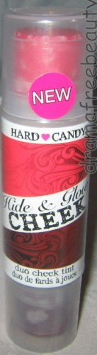 Hard Candy HIDE & GLOW Cream Cheek Tint Blush Duo in *HOT DATE* Sheer Red B. New