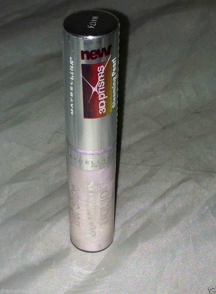 Maybelline Wet Shine Diamonds Liquid Lip Gloss * GLEAMING PEARL * Sealed New