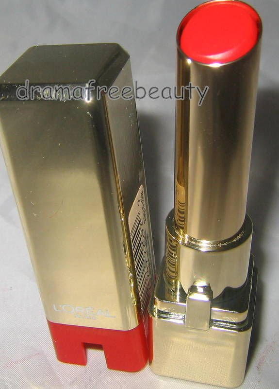LOreal Colour Riche Caresse Feather-Light Lipstick *CARDINAL PLUME* Sheer Red BN