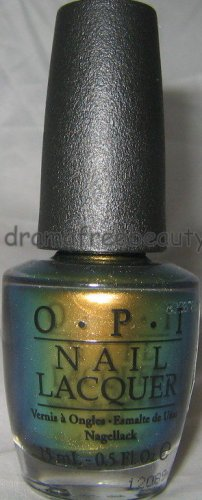 OPI Spider Man Nail Lacquer Color Polish *JUST SPOTTED THE LIZARD* Duo-Chrome BN