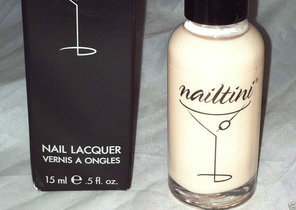 Nailtini Nail Polish * FRAPPE * Sheer Pale Pink Shade Brand New