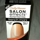 Sally Hansen Salon Effects Nail Polish Strips 005 NOIR BOUDOIR Black French Mani