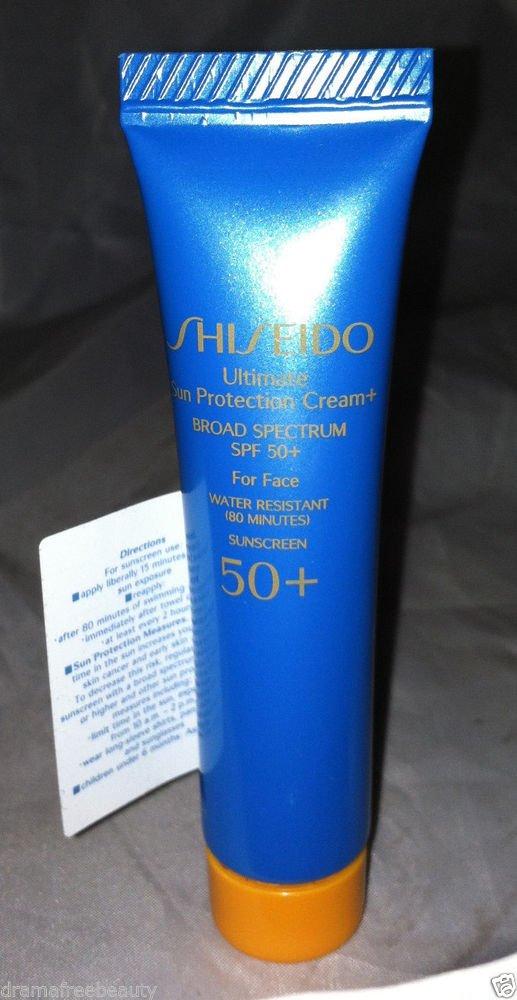 Shiseido Ultimate Sun Protection Face Cream Broad Spectrum SPF50+ 15ml Brand New