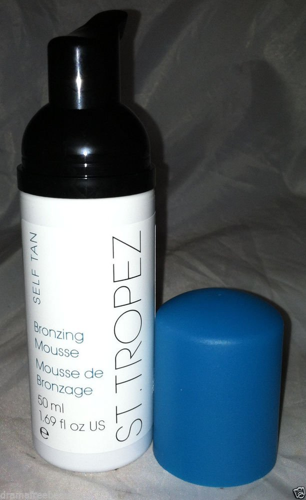 St. Tropez Self Tan *BRONZING MOUSSE* (50ml/1.69oz) Travel Pump Bottle Brand New