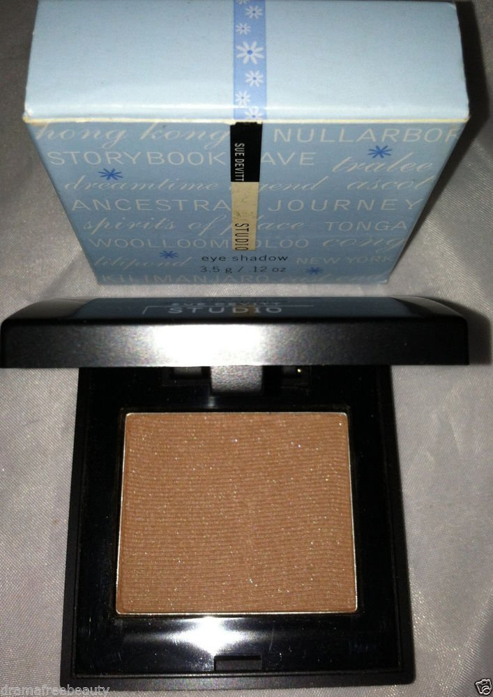 Sue Devitt Silky Eyeshadow *STORYBOOK CAVE* Golden Caramel Nude Sheen BNIB