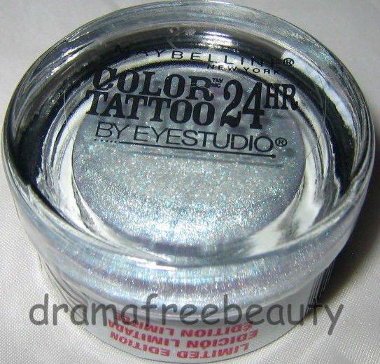 BN Maybelline COLOR TATTOO 24HR Cream Gel Eye Shadow Limited Ed #35 *COOL CRUSH*