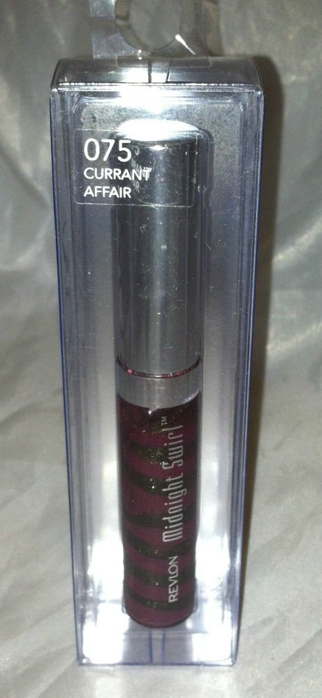 Revlon Midnight Swirl #075 CURRANT AFFAIR Lip Luster BNIB