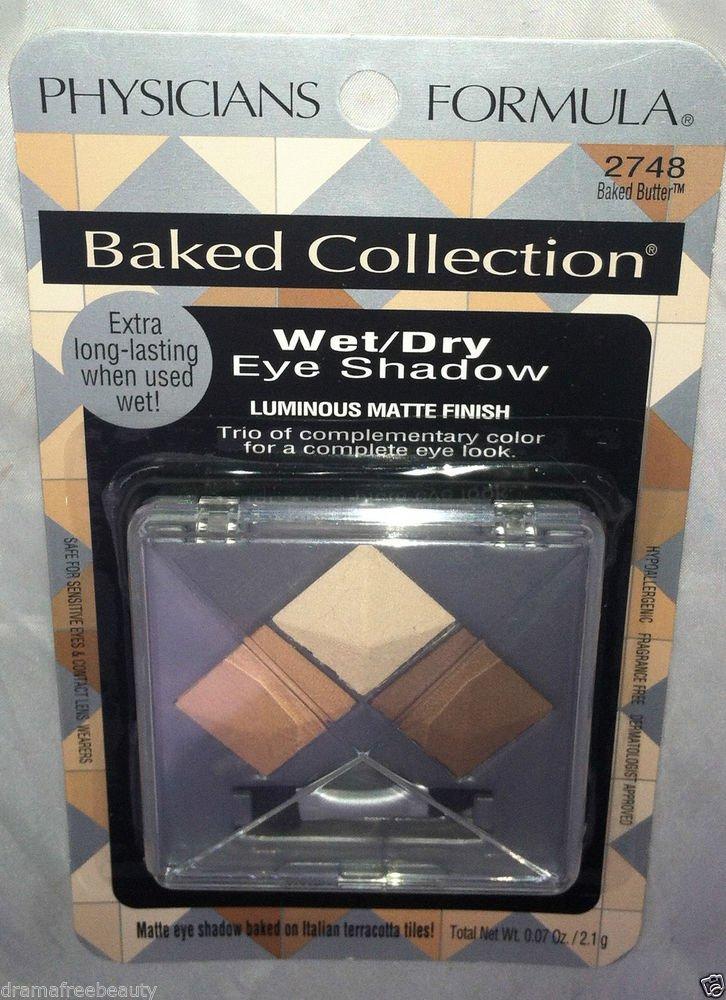 Physicians Formula Matte Finish Eye Shadow * 2748 BAKED BUTTER * Wet/Dry Smokey
