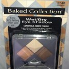 Physicians Formula Matte Finish Eye Shadow * 2748 BAKED BUTTER * Wet/Dry Smokey