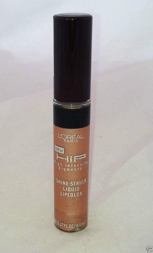 L'Oreal Hip Shine Struck Liquid Lipcolor / Lipstick  *160 SPLENDID* Brand New