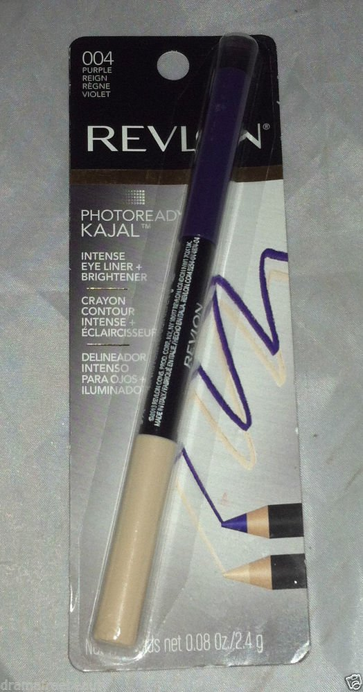 Revlon  Photoready KAJAL Eye Liner + Brightener Crayon * 004 PURPLE * Sealed New