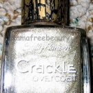 Sally Hansen CRACKLE Overcoat #06 *ANTIQUED GOLD* Gold Shimmer Glitter Brand New