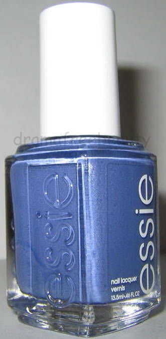 Essie Braziliant Nail Polish 861 in *SMOOTH SAILING* Lavender Blue w/Shimmer BN