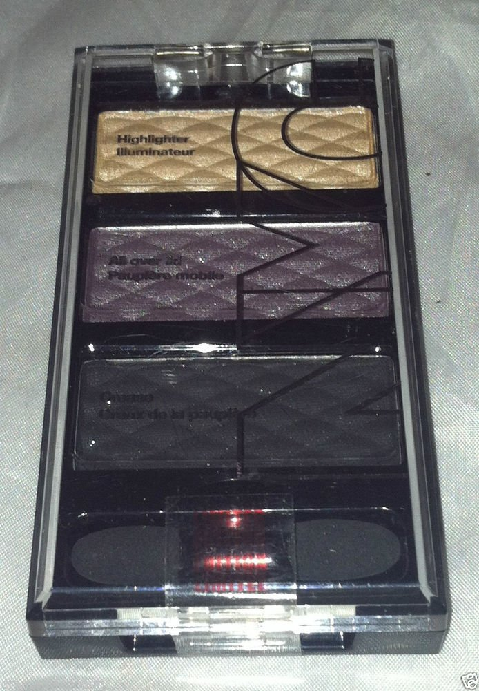 NYC HD Color Trio Eye Shadow Set * 001 NIGHT FEVER * Soft & Silky Texture New