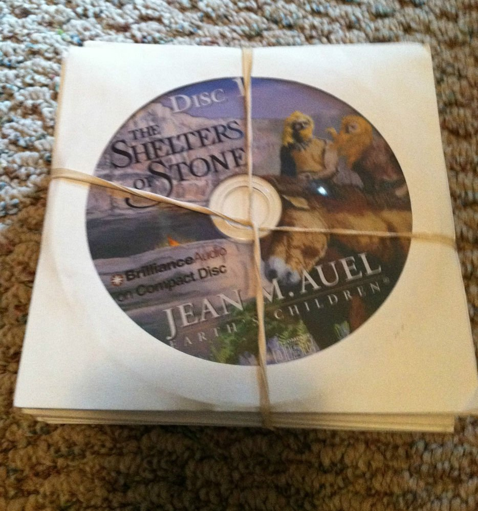 The Shelters of Stone Vol. 5 by Jean M. Auel (2002, CD, Unabridged)