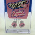 Bubble Yum Ear buds Comfort Earphones Brand New in Box Music Mp3 iPod 3.5mm Jack
