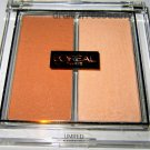 L'oreal Lmt Ed. Illuminating Highlighter Blush Duo *LUMINOUS PEACH* Nude Glow BN
