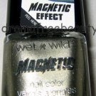 Wet n Wild MAGNETIC Design Nail Polish *BAD FOR CREDIT CARDS* Platinum Gold New!