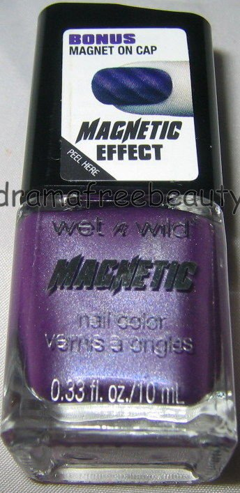 Wet n Wild MAGNETIC Design Nail Polish *IGNITING THE SPARK* Purple Lavender New!