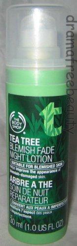 BN The Body Shop *TEA TREE* Blemish Fade Acne Night Moisture Lotion (30ml./1oz.)