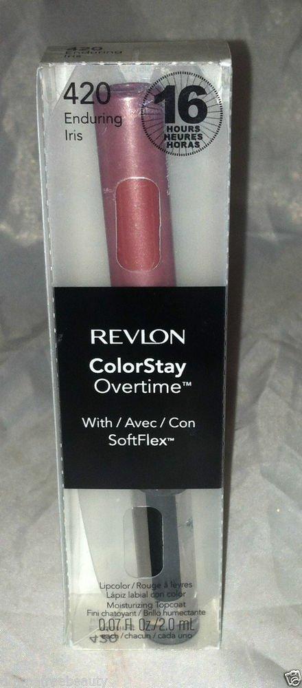 Revlon ColorStay Overtime Liquid Lip Color * 420 ENDURING IRIS * Brand New