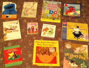 Children's book lot 11 books in all. Clifford Curious George Rhinoceros Tap