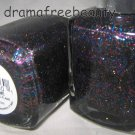 Pure Ice Limited Edition Nail Polish *FIVE-SOME* Black w/Multi-Color Glitters BN