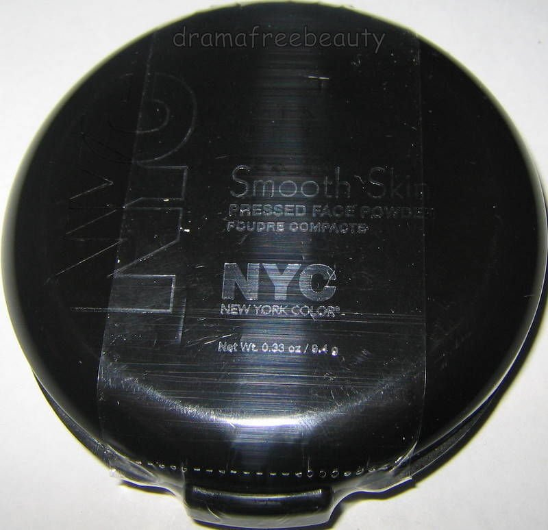 NYC Smooth Skin Pressed Face Powder Makeup *701A TRANSLUCENT* Brand New & Sealed