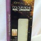 L'oreal Colour Riche Lmt Ed Nail Lingerie 703 *ELITE CHIC* 18 3D Stickers No Dry