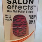 Sally Hansen Salon Effects Real Nail Polish 16 strips #440 Animal Instinct BNIB