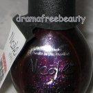 Nicole Kardashian Nail Polish *SMILE FOR THE GLAM-ERA* Deep Plum w/Gold Shimmer