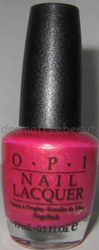 OPI Nail Lacquer SOUTH AMERICAN Polish *SENORITA ROSE-ALITA* Rose/Pink w/Gold Sh