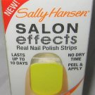Sally Hansen Instant Salon Effects 160 ELECTRIC SHOCK* Yellow Nail Polish Strips