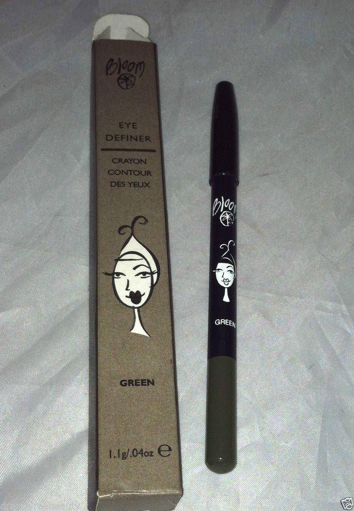 Bloom Eye Definer Crayon * GREEN * Eye Liner Smooth Texture Aloe Vera BNIB