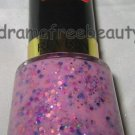 BN Revlon BUBBLE GUM DAYS Nail Polish 260 *GIRLY*  Milky Pink Purple Hex Glitter