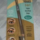 Physicians Formula Brow-Tweez 3-in-1 Tweezer/Brow Pencil/Shaper * DARK BLONDE *
