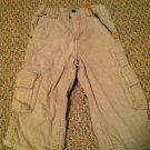 Wonder Kids Boys/Toddler/Infants 18 months Tan Corduroy Pants 7-pocket Design