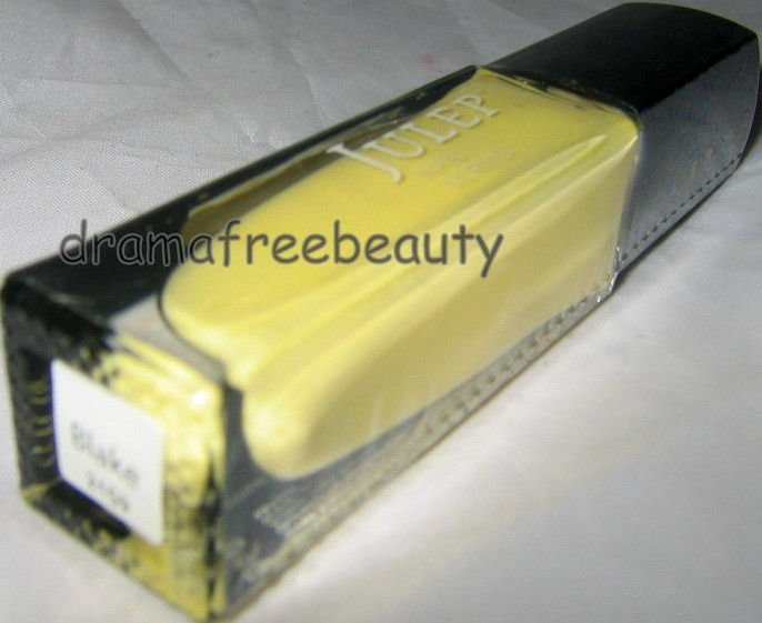 Julep Spring Nail Color Polish *BLAKE* Pastel Butter Yellow Creme B.New & Sealed