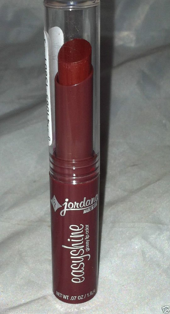 Jordana Easyshine Scented Glossy Lip Color 01 *SUGAR PLUM* Deep Berry Plum B.New